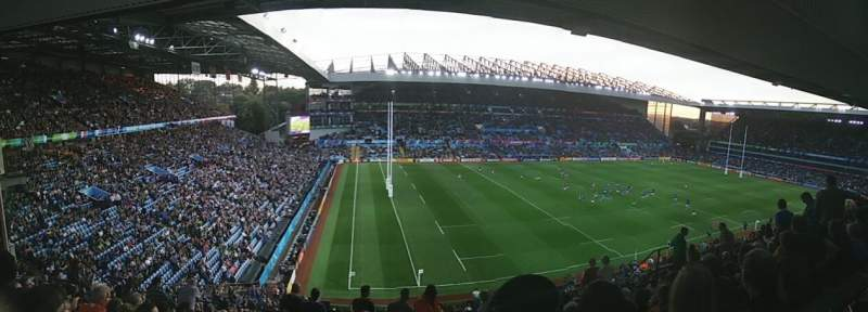 Seating view for Villa Park Section P2 Row OO Seat 255