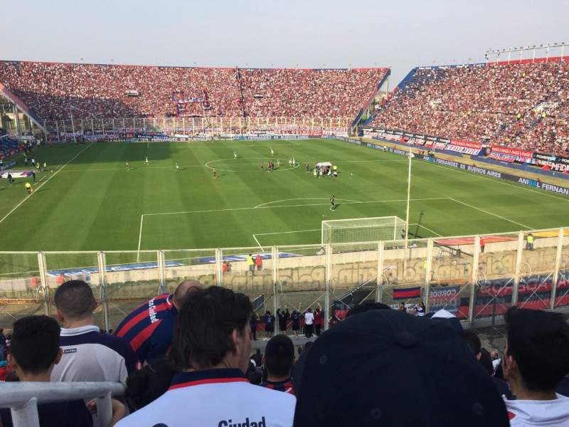 Seating view for Estadio Pedro Bidegain Section Platea Codo Row General  Seat General Vi