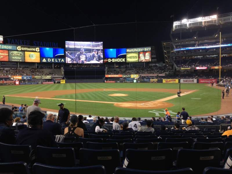 Seating view for Yankee Stadium Section 121A Row 21 Seat 6