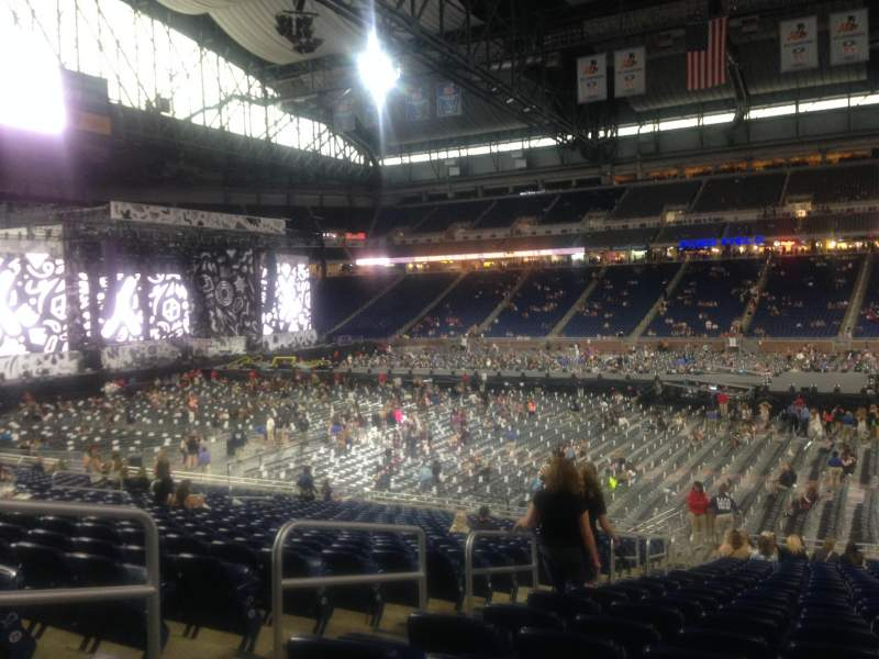 Seating view for Ford Field Section 108 Row 25 Seat 4