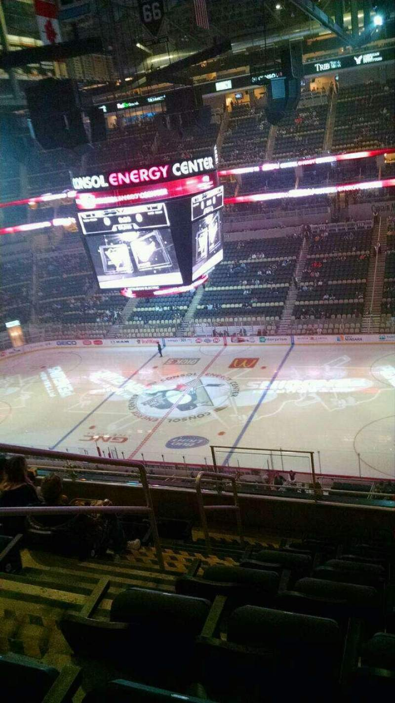Seating view for PPG Paints Arena Section 234 Row g Seat 21