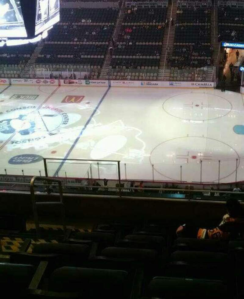 Ppg paints arena section 234 row g seat 21 pittsburgh for Hotels close to ppg paints arena