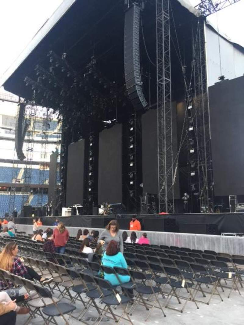 Gillette Stadium, section: A1, row: 7, seat: 25 and 26