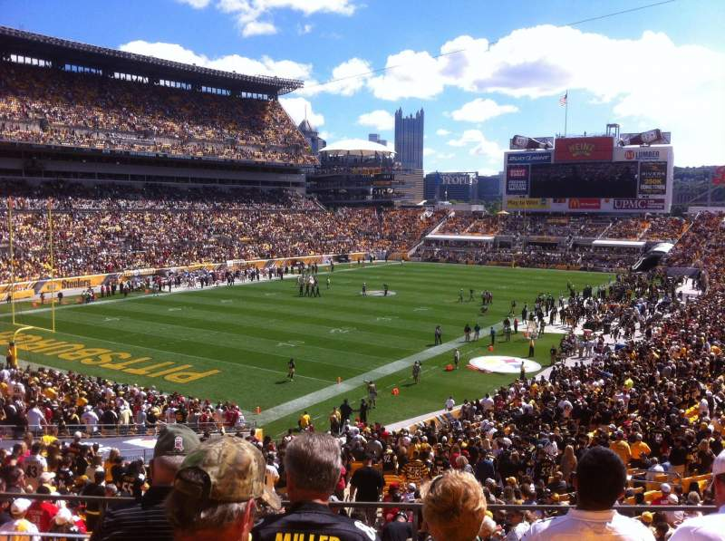 Seating view for Heinz Field Section 227 Row E Seat 15