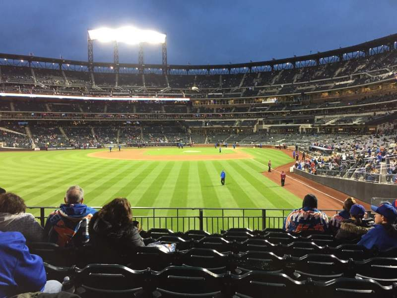 Seating view for Citi Field Section 133 Row 3 Seat 5