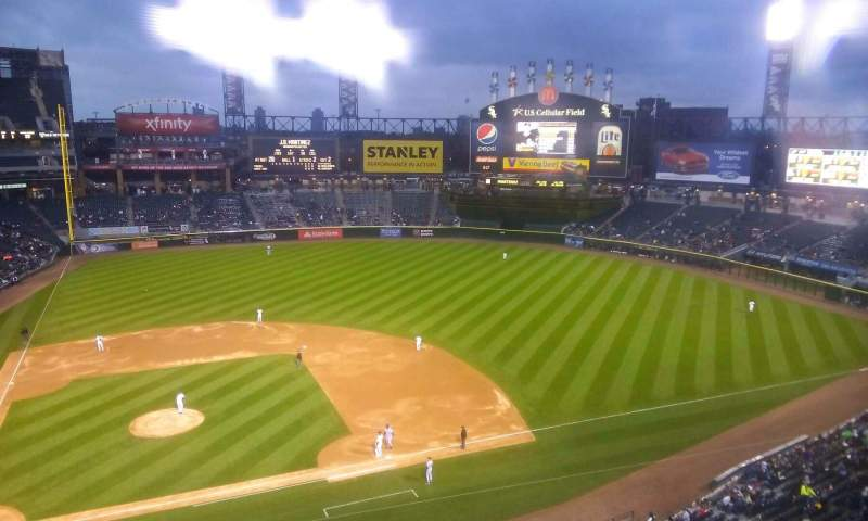 Seating view for Guaranteed Rate Field Section 526 Row 2 Seat 16