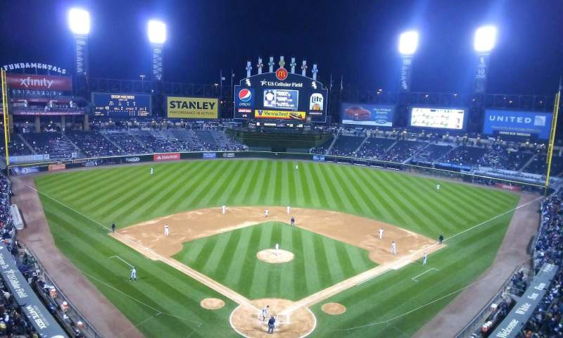 Seating view for Guaranteed Rate Field Section 531 Row 2 Seat 8