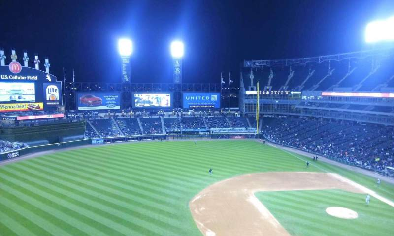 Seating view for Guaranteed Rate Field Section 542 Row 2 Seat 15