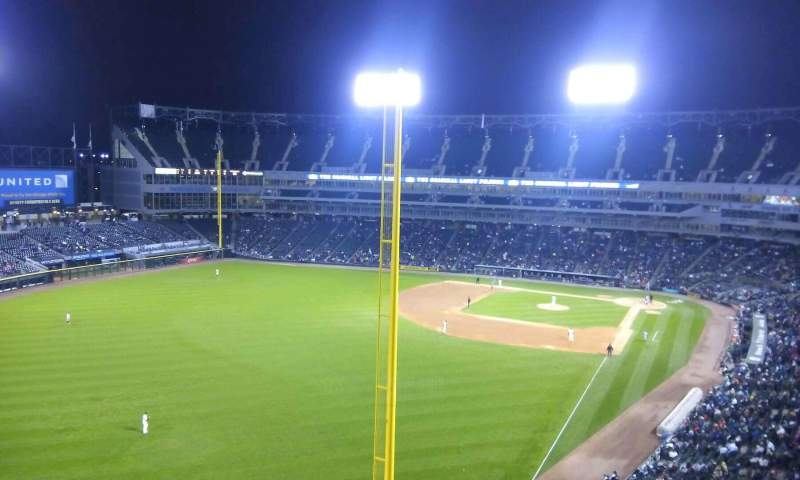 Seating view for Guaranteed Rate Field Section 556 Row 2 Seat 8