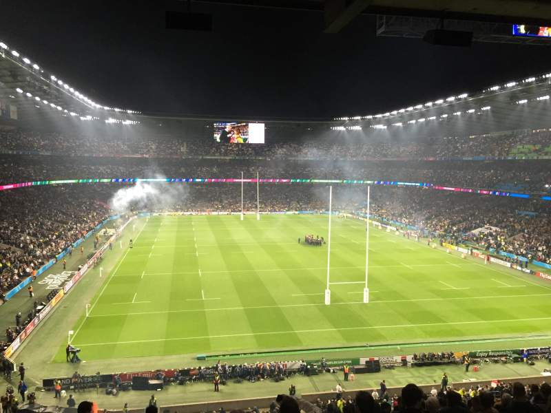 Seating view for Twickenham Stadium Section M22 Row 68 Seat 179