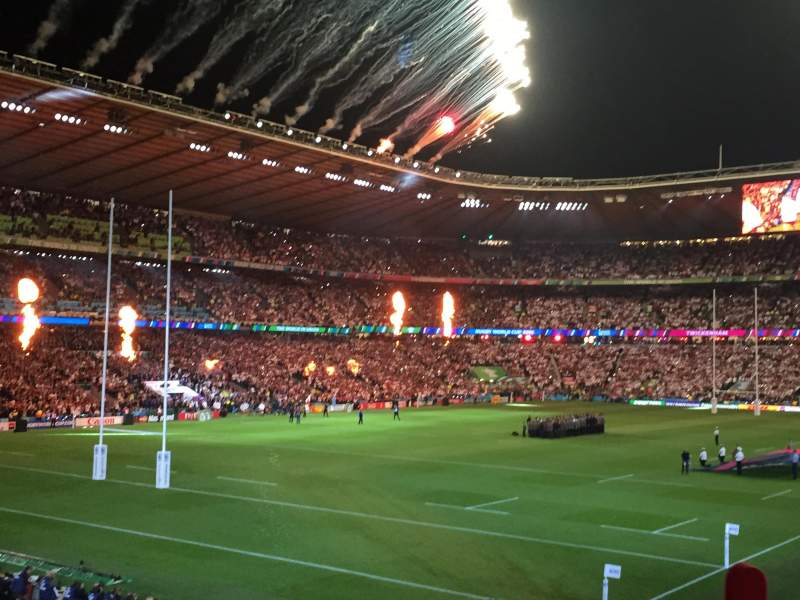 Seating view for Twickenham Stadium Section L31 Row 27 Seat 53