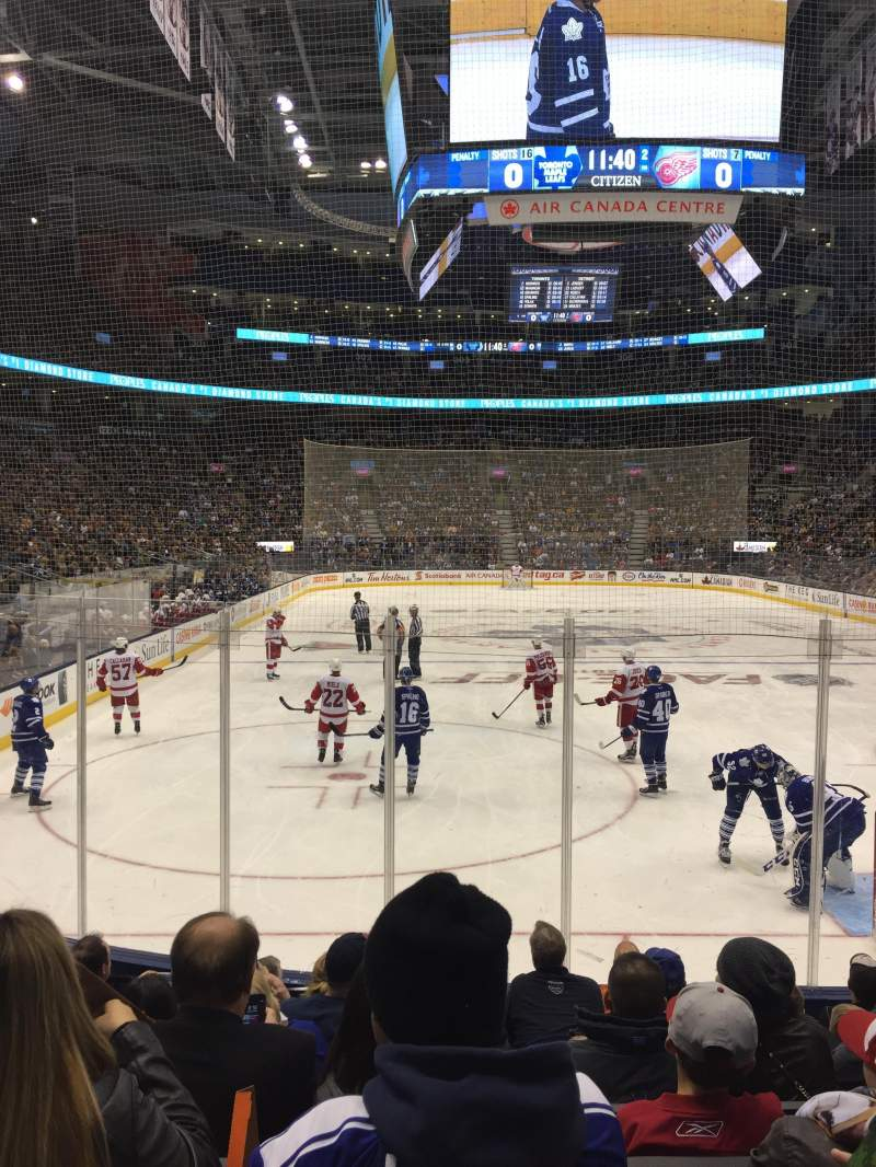 Seating view for Scotiabank Arena Section 115 Row 11 Seat 6
