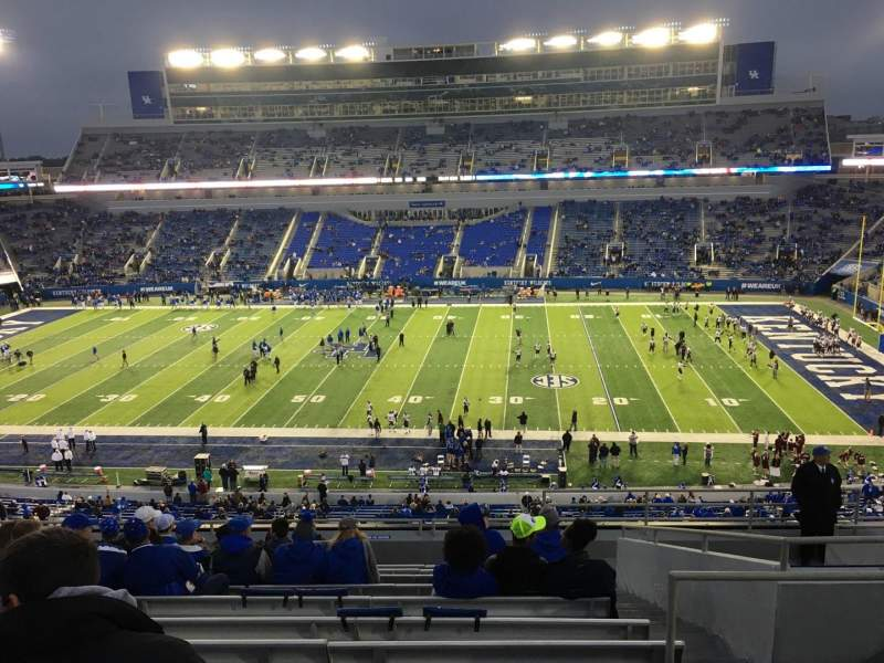 Seating view for Kroger Field