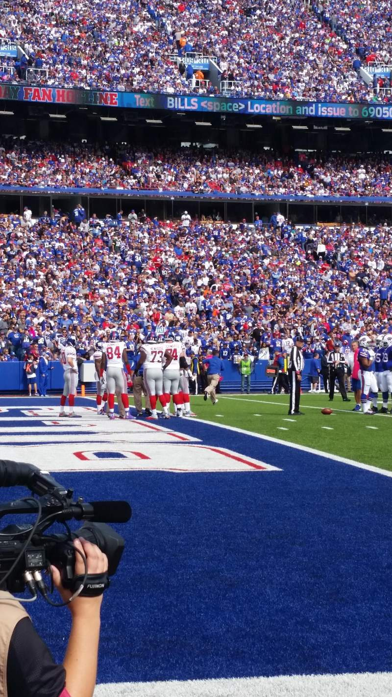 New Era Field, section: 138, row: 2, seat: 9
