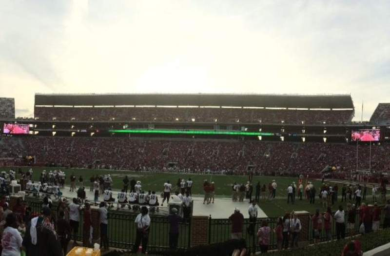 Seating view for Bryant-Denny Stadium Section JJ Row 6 Seat 20