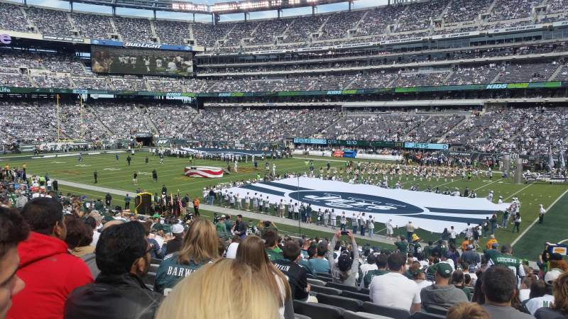 Seating view for MetLife Stadium Section 134 Row 29 Seat 6