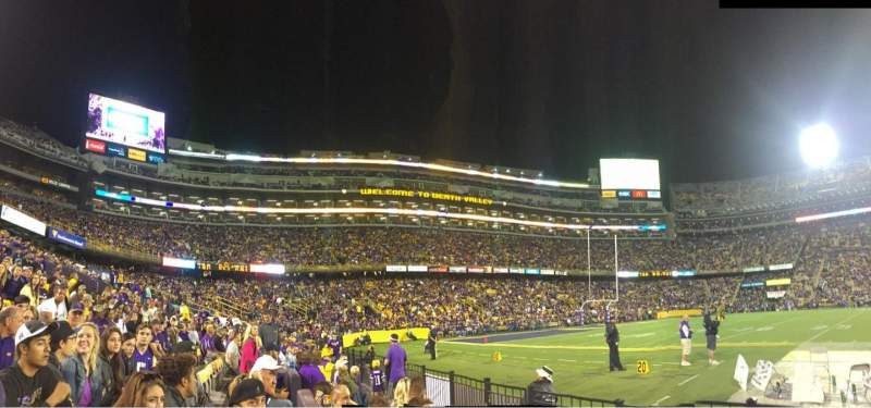 Seating view for Tiger Stadium Section 304 Row 3 Seat 13