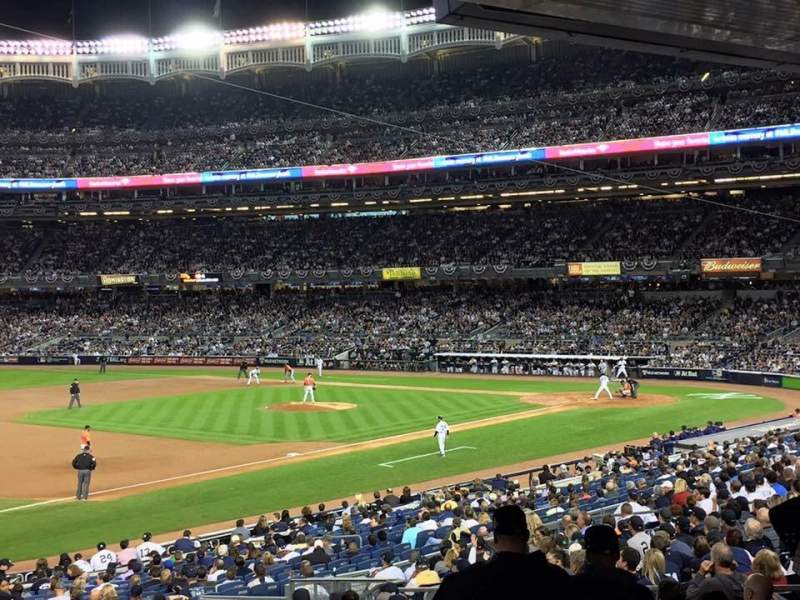 Seating view for Yankee Stadium Section 127b Row 6 Seat 11