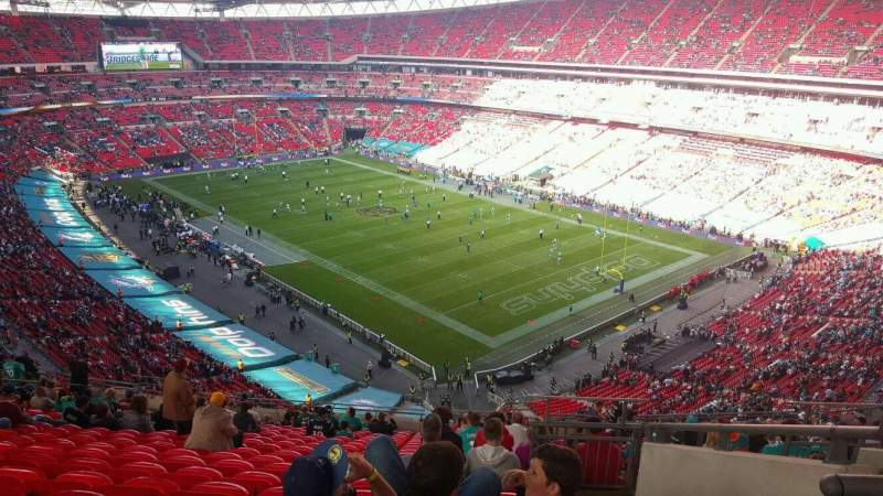 Seating view for Wembley Stadium Section 519 Row 21 Seat 167