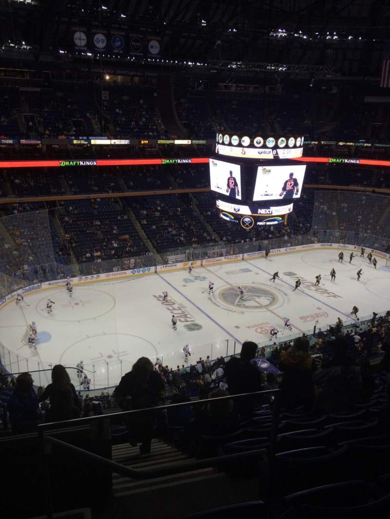 KeyBank Center, section: 308, row: 10, seat: 26