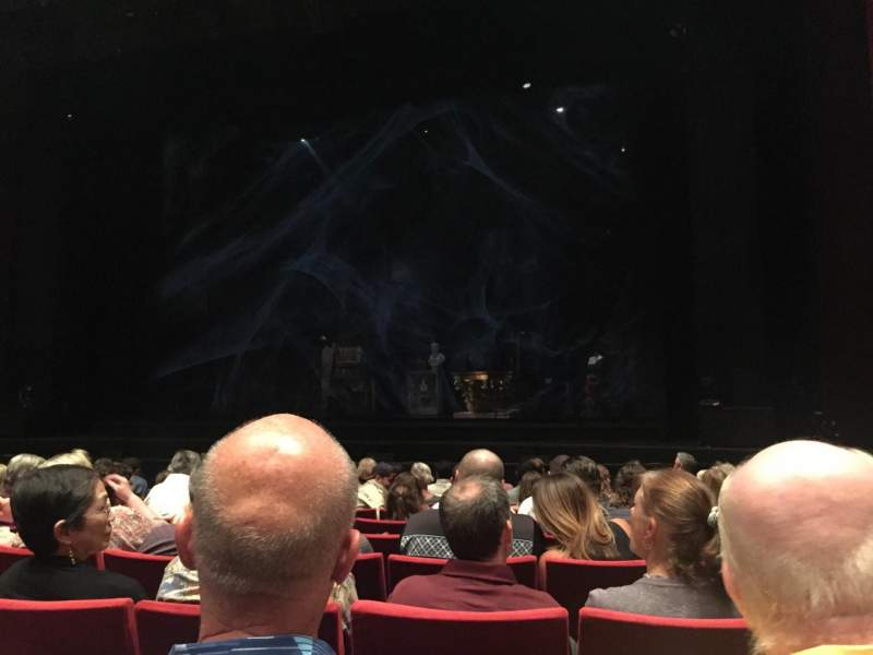 Seating view for San Diego Civic Theatre Section ORCHR1 Row H Seat 22