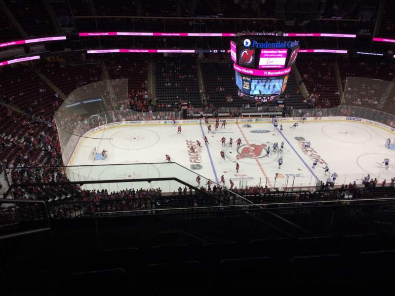 Seating view for Prudential Center Section 228 Row 5 Seat 18