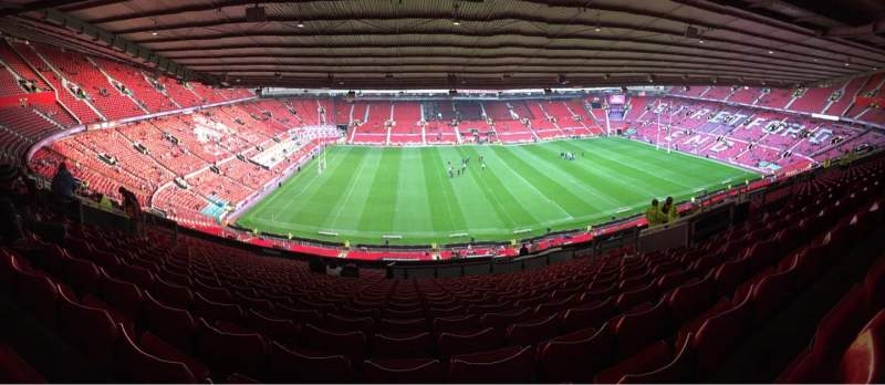 Seating view for Old Trafford Section N3403 Row 30 Seat 179