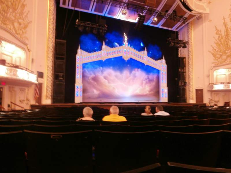 Seating view for Heinz Hall Section Orchestra Left Row R Seat 13