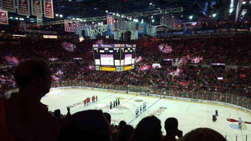 Seating view for Joe Louis Arena Section 219 Row 12 Seat 3