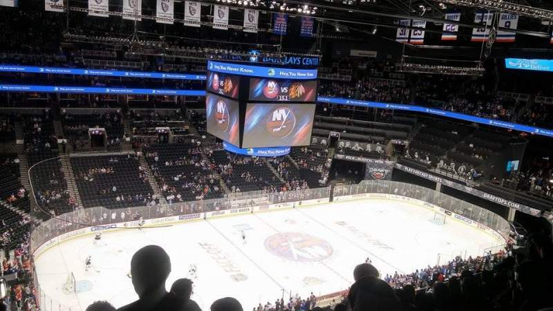 Seating view for Barclays Center Section 210 Row 9 Seat 25