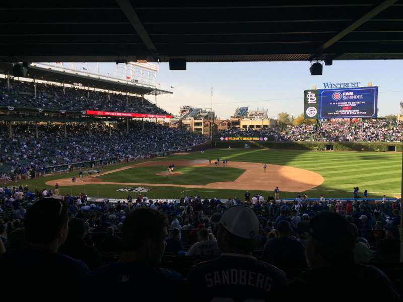 Seating view for Wrigley Field Section 231 Row 14 Seat 106
