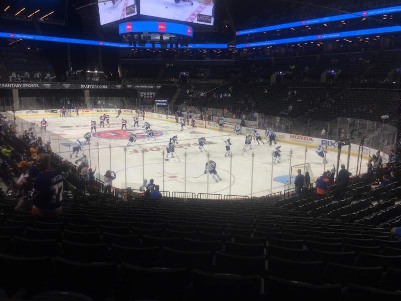 Seating view for Barclays Center Section 19 Row 19 Seat 4