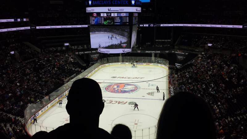 Seating view for Barclays Center Section 215 Row 6 Seat 4