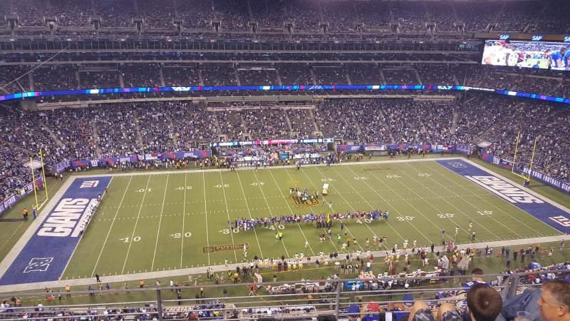 MetLife Stadium, section: 340, row: 7, seat: 15