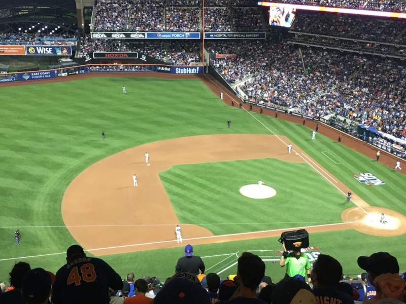Seating view for Citi Field Section 522 Row 14 Seat 5