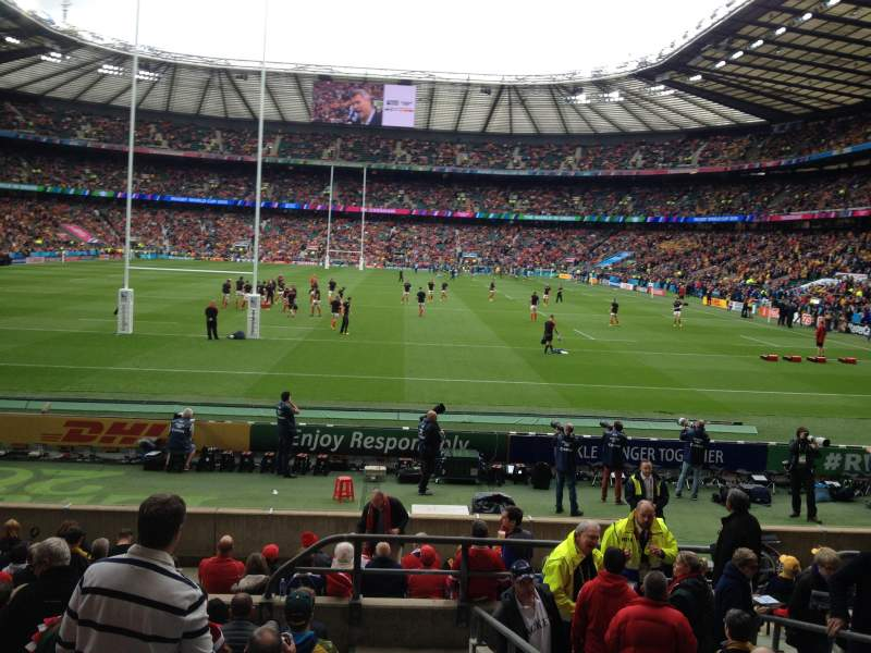 Seating view for Twickenham Stadium Section L14 Row 15