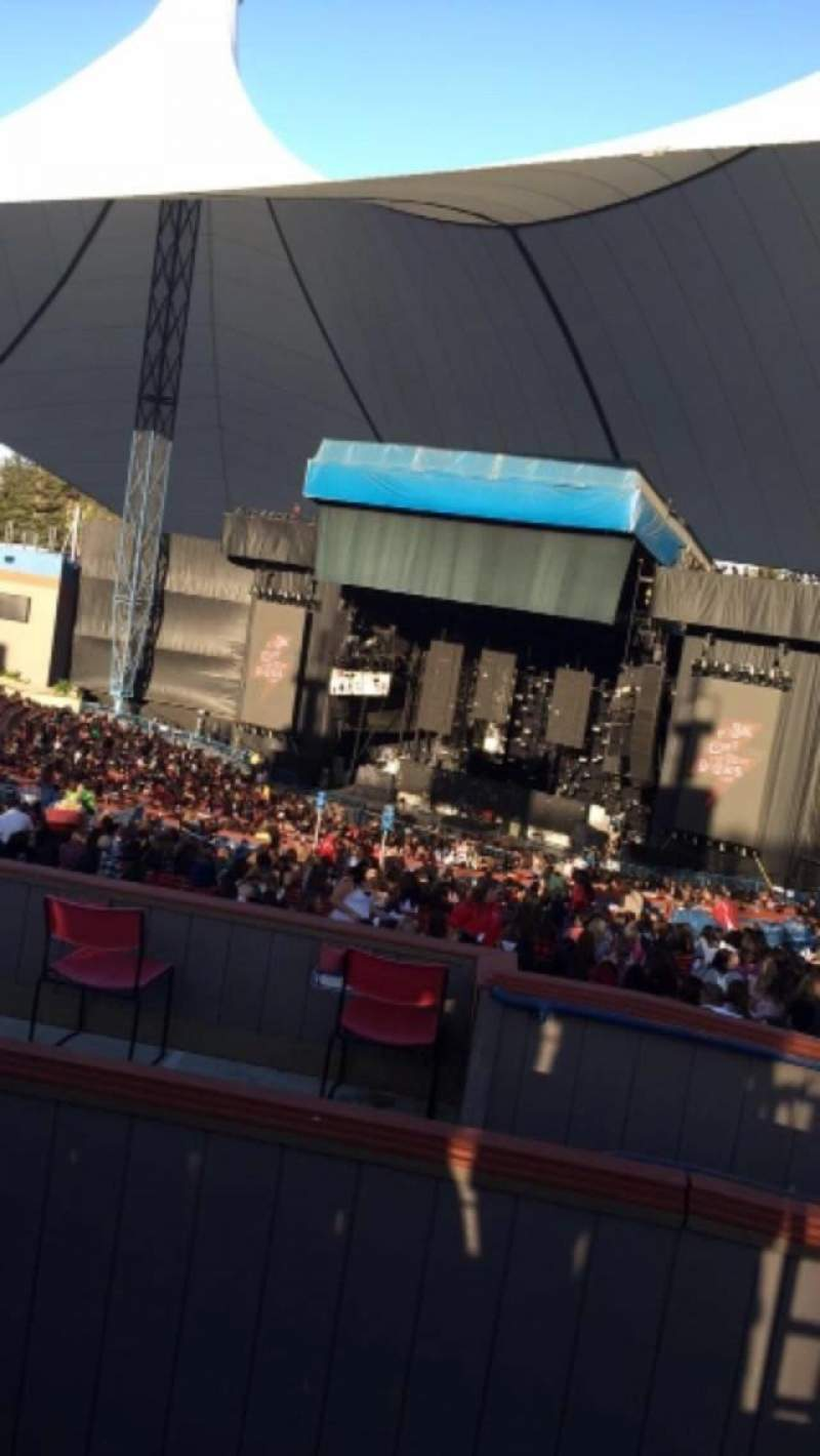 Seating view for Shoreline Amphitheatre Section Lawn Row Front Seat unknown