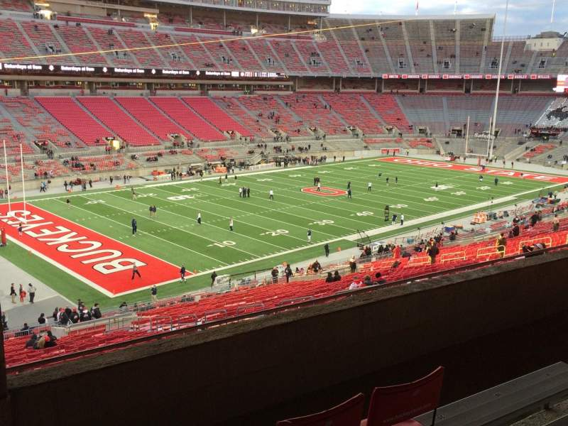 Seating view for Ohio Stadium Section 28B Row 5 Seat 27