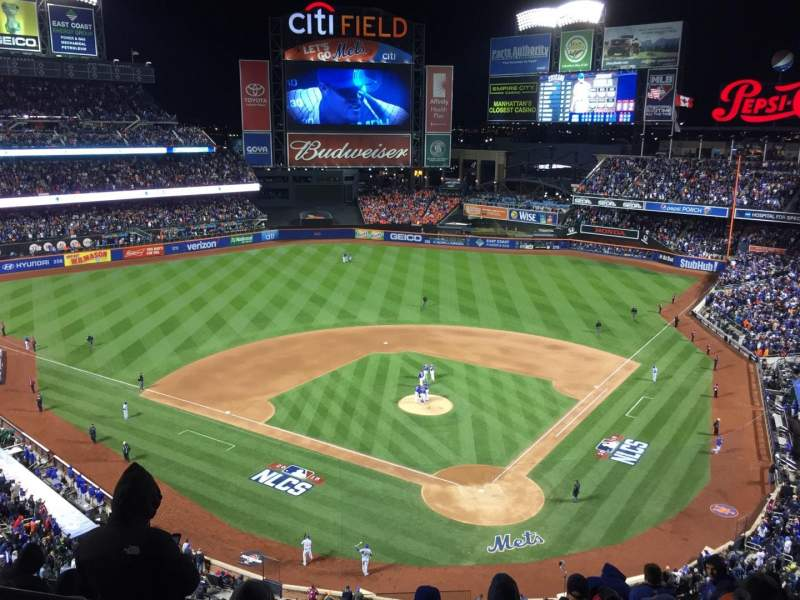 Seating view for Citi Field Section 516 Row 1 Seat 6