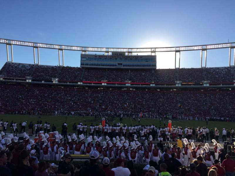 Seating view for Williams-Brice Stadium Section 21 Row 11 Seat 1