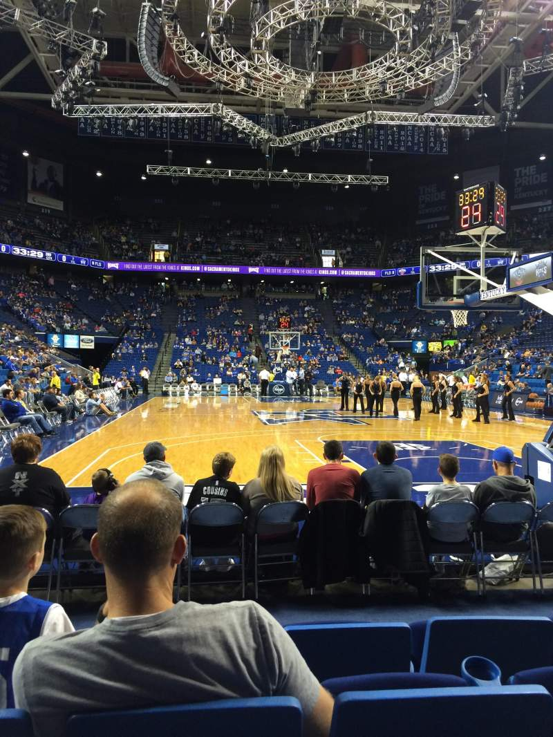 Seating view for Rupp Arena Section 40 Row DD Seat 9