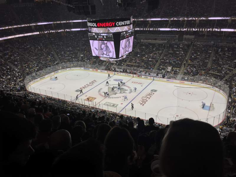 Seating view for PPG Paints Arena Section 217 Row N Seat 5