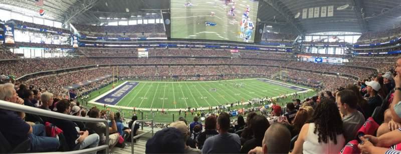 AT&T Stadium, section: C312, row: 6, seat: 22