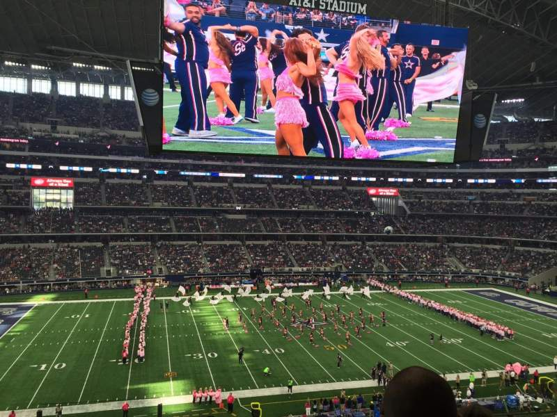Seating view for AT&T Stadium Section C312 Row 6 Seat 22
