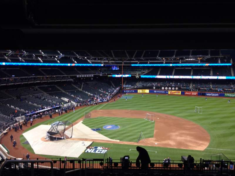 Seating view for Citi Field Section 311 Row 12 Seat 1