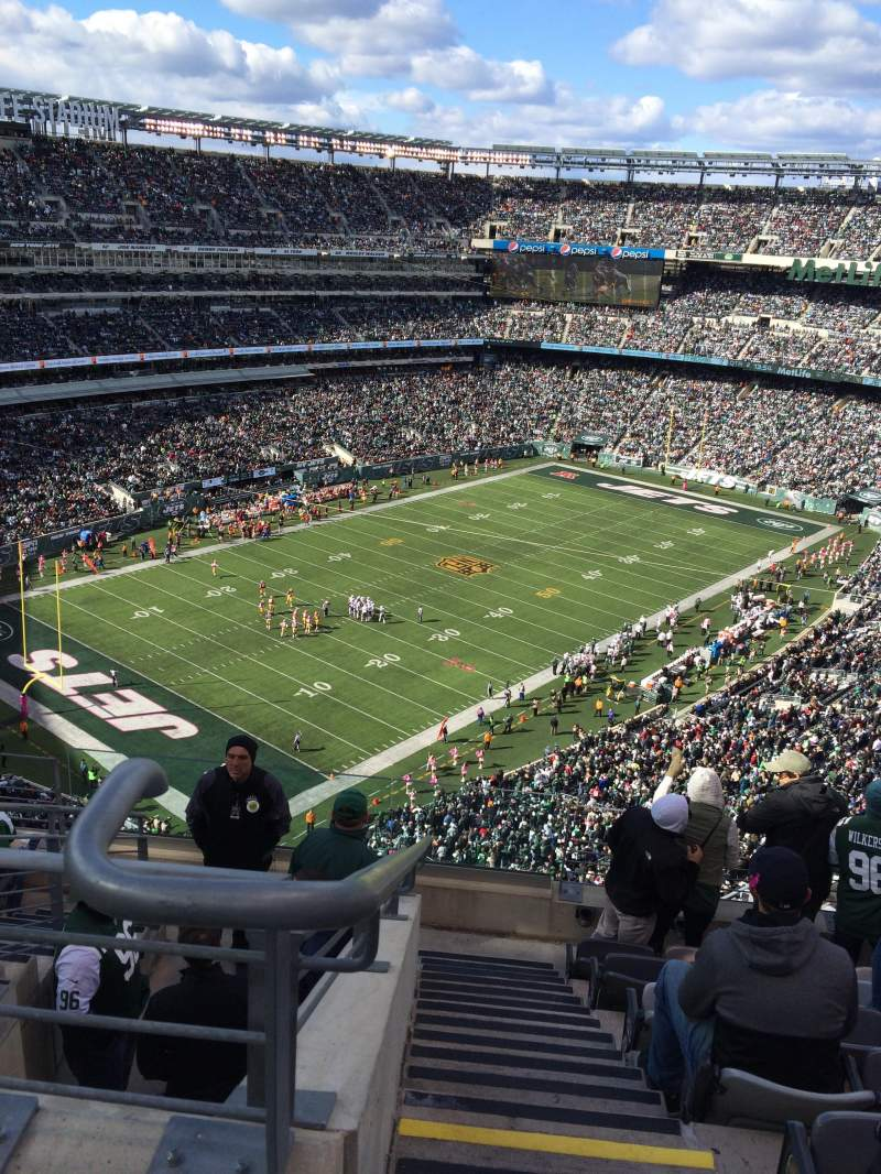 Seating view for MetLife Stadium Section 320 Row 12 Seat 25