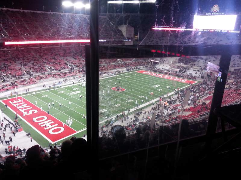 Seating view for Ohio Stadium Section 11C Row 24 Seat 25