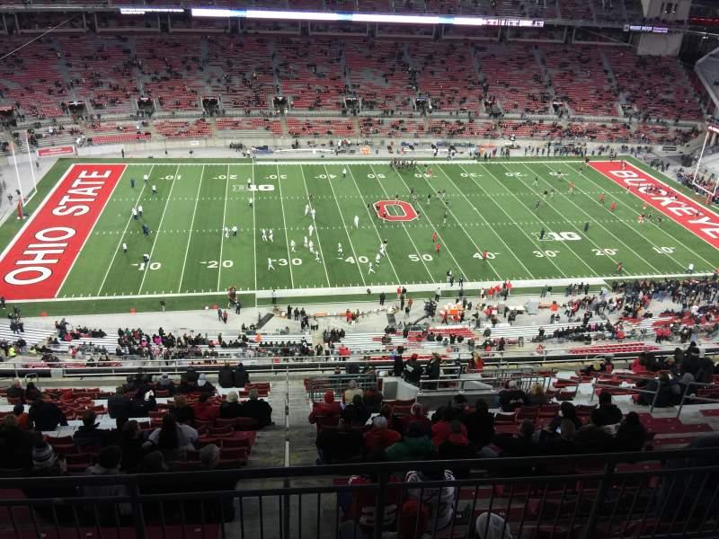 Ohio Stadium Section 19D State