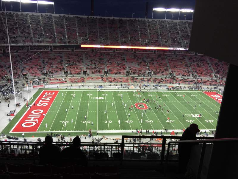 Seating view for Ohio Stadium Section 19D Row 8 Seat 25