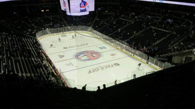 Seating view for Barclays Center Section 202 Row 12 Seat 14